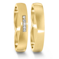 Partnerring  76059 GG 4 mm mattiert 5x 0.008