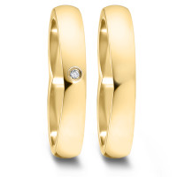 Partnerring  76066 GG 4 mm poliert 1x 0.012