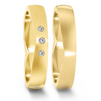 Partnerring  76081 GG 750 4 mm mattiert 3x 0.012