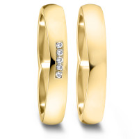 Partnerring  76086 GG 750 4 mm poliert 5x 0.008