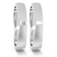 Partnerring  76070 WG 750 4 mm mattiert 1x 0.012