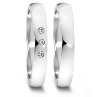 Partnerring  76080 WG 750 4 mm poliert 3x 0.012